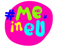 #MeinEU Logo